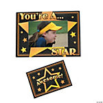 """You're A Star"" Picture Frame Magnets"