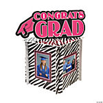 Zebra Graduation Party Centerpiece