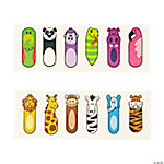 Zoo Animal Finger Puppet Tattoos