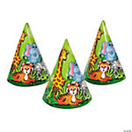 Zoo Animal Party Hats