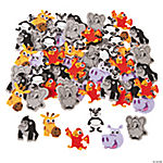 Zoo Animal Self-Adhesive Shapes