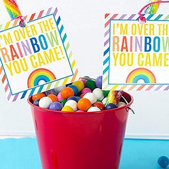 Whimsical Rainbow Party
