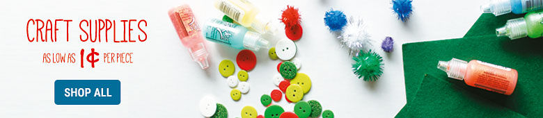 Shop All Craft Supplies As Low As 1cent Per Piece