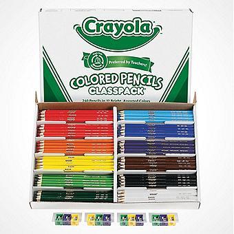 12-Color Crayola® Colored Pencils Classpack®