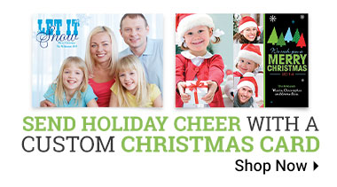 Custom Christmas Cards - Shop Now