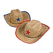 Child's Cowboy Hats with Star