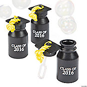 Class of 2016 Graduation Bubble Bottles