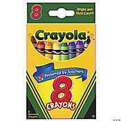 8-Color Crayola® 8-Pc. Crayons