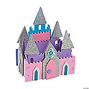 3D Ice Princess Castle Craft Kit