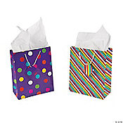 Dots & Stripes Gift Bags