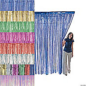 Foil Fringe Curtains