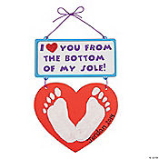 I Love You From the Bottom of My Sole Craft Kit