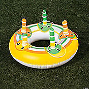Inflatable Glow Ring Toss Game