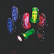Large Beam Flashlight Key Chains