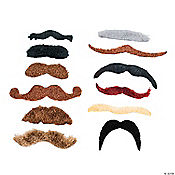 Large Spy Mustache Assortment