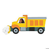 Snow Plow Magnet Christmas Craft Kit