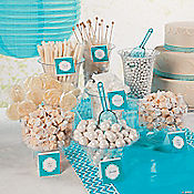 White Candy Buffet Idea