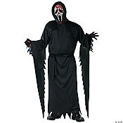 Zombie Ghost Face Bleeding Adult Men's Costume