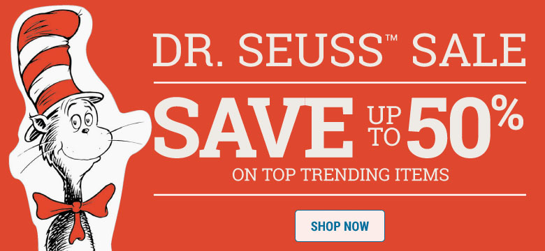 Dr Seuss Sale - Up to 50% off