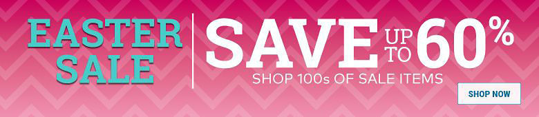 Easter Sale - Up to 50% Off