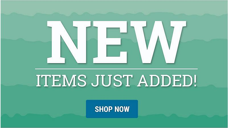 New - Items just added