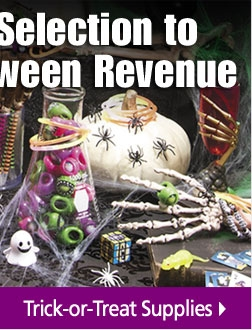 Shop Trick or Treat Supplies