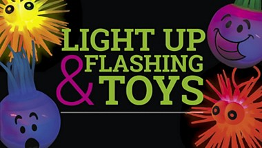 Light Up and Flashing Toys