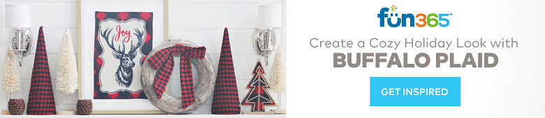 Fun365 - Create a Cozy Look with Buffalo Plaid- Get Inspired