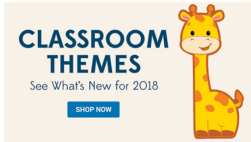 Classroom Themes - See What's New for 2018