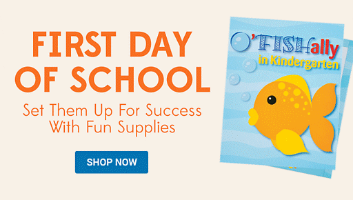 First Day of School - Start them off with fun supplies
