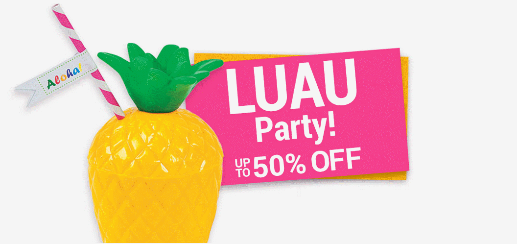 Luau Party Up to 50% off