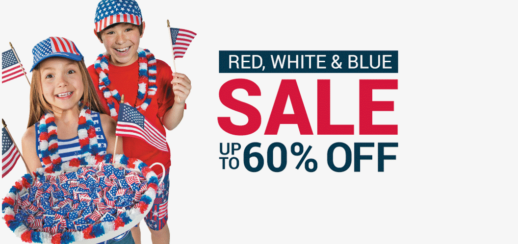 Red White and Blue Sale Up to 60% off