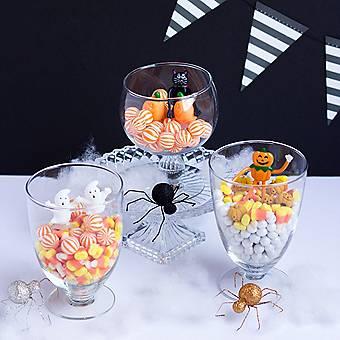 Halloween Candy Terrariums