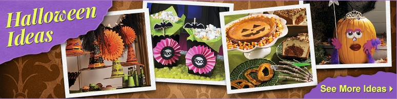 Halloween Decoration Ideas, Halloween Party Favor Ideas, Halloween Recipes, and More!