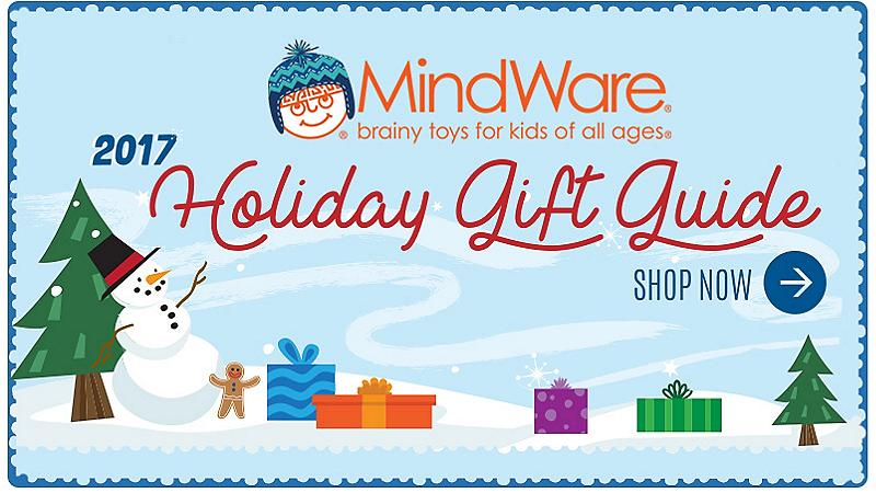 Mindware Brainy Toys for Kids 2017 Gift Guide