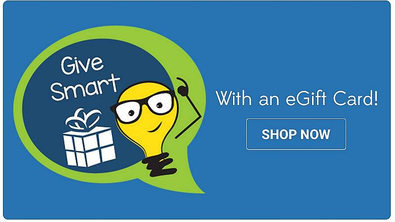 Give Smart with an eGift Card