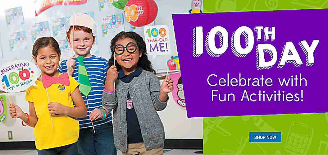 100th Day - Celebrate with Fun Activities