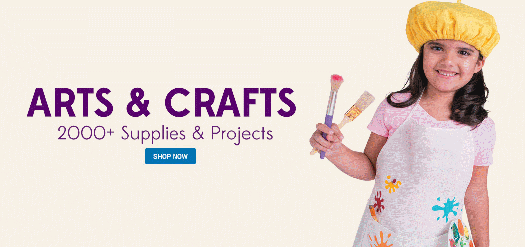 Arts and Crafts - Find 2000+ Supplies and Projects