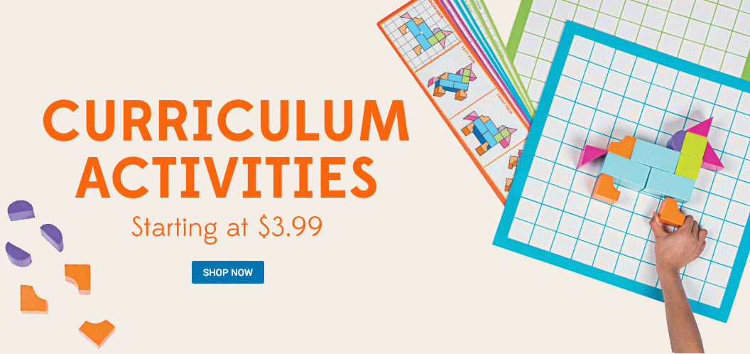 Curriculum Activities as low as $3.99 - Shop Now