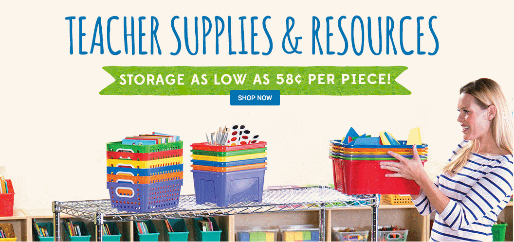 Teacher Supplies and Resources for the Classroom - Shop by Color - Shop Now