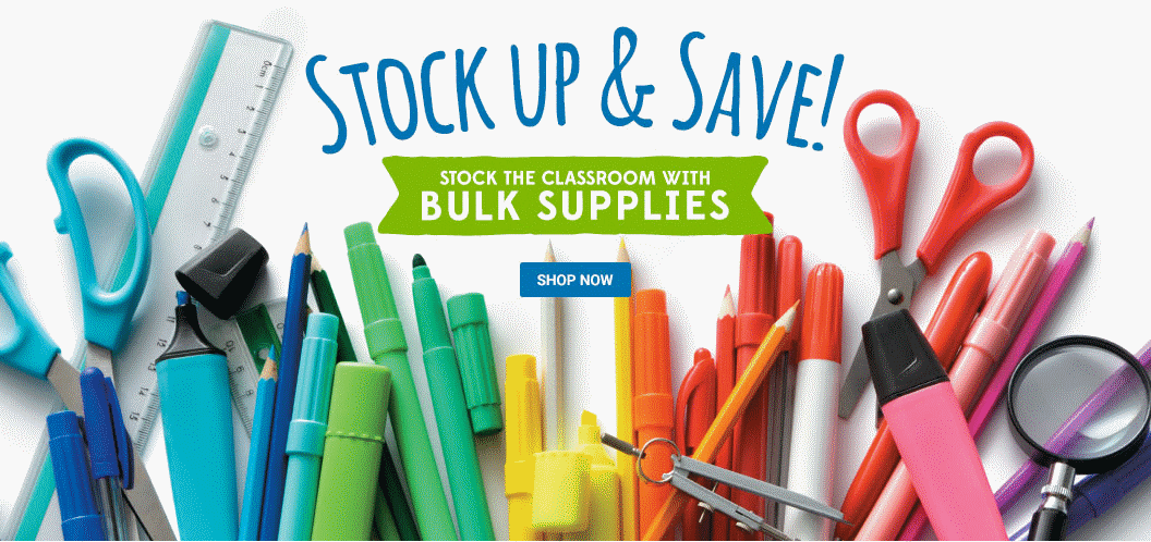 Stock up and save on bulk supplies