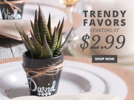 Up to 30% Off Favors