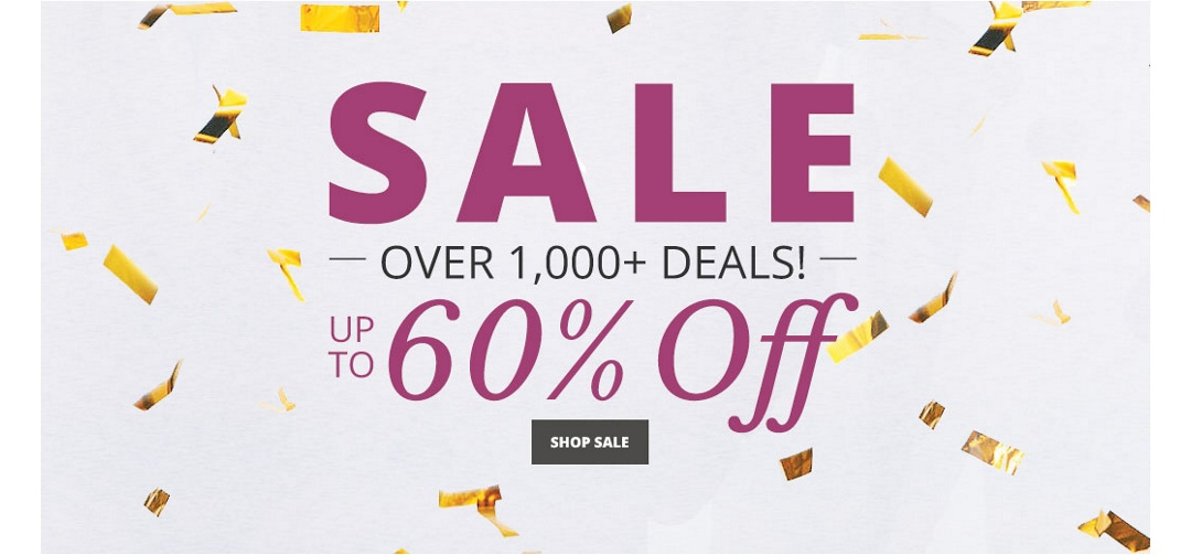 Sale - 1000+ Finds up to 60% off!