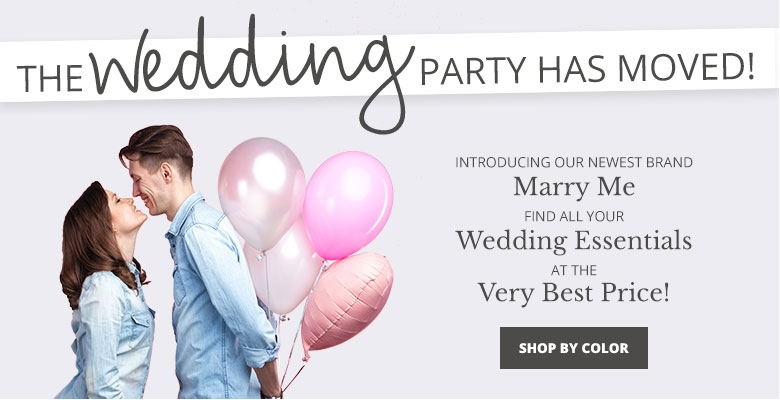 Shop By Color - Visit our new wedding website Marry Me. Find all your wedding essentials at the very best prices.