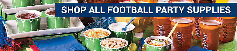 Super bowl party super bowl party supplies super bowl for Super bowl party items