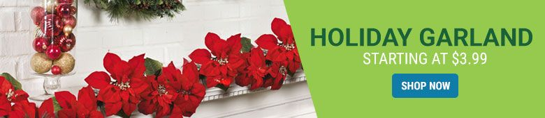 Holiday Garland Starting at $3.99