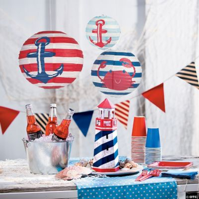 Nautical Party Supplies<