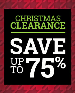 Christmas Sale up to 75% off!