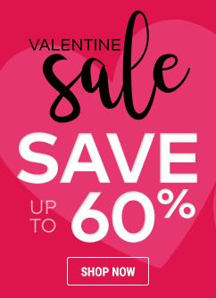 valentine sale save up to 60