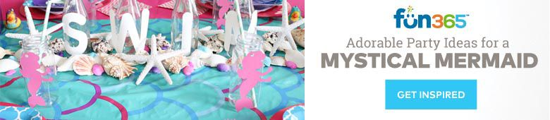 Find Adorable Party Ideas for a Mystical Mermaid Party on Fun365